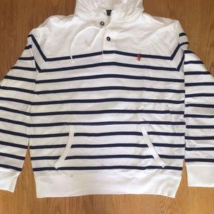 Polo men's L stripped hoodie